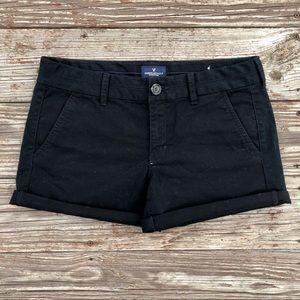 Black AE Jean Shorts